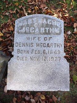Mary Bache <i>Irwin</i> McCarthy
