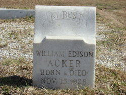William Edison Acker