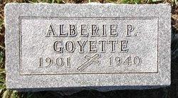 Alberie Peter Goyette