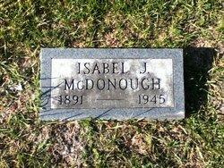Isabel J McDonough