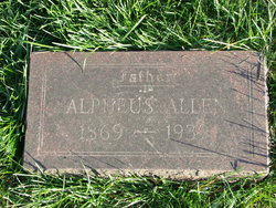 Alpheus Al Allen