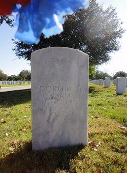 Dortha Gean <i>Burleson</i> Adams