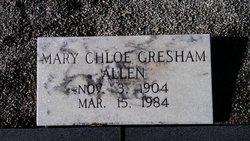 Mary Chloe <i>Gresham</i> Allen