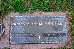 Roberta <i>Baker</i> Humphrey