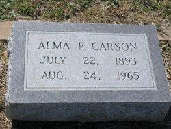 Alma Parthena <i>See</i> Carson