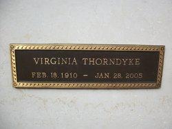 Virginia <i>Bassi</i> Thorndyke
