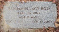 Benjamin Lacy Rose