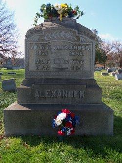 Mary Lavinia <i>Nesbit</i> Alexander