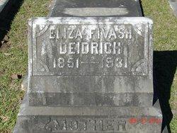 Eliza <i>Fivash</i> Deidrich