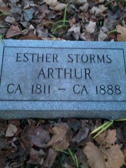 Esther <i>Storms</i> Arthur