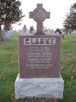 Catherine Cate <i>Harty</i> Clarke