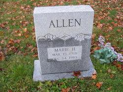 Marie H Allen
