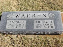Cynthia Ann <i>Sigler</i> Warren