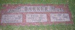 Mary Eileen Bakker