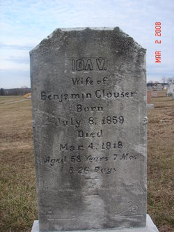 Ida Virginia <i>Keefer</i> Clouser