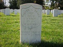 Sgt Waller C Bruce