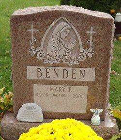 Mary Francis <i>Davis</i> Benden