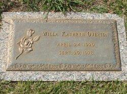 Willa Kathryn Overton
