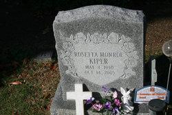 Rosetta <i>Monroe</i> Kiper