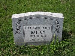 Alice Carol <i>Parker</i> Batton