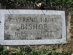 Rev Henry Bishop