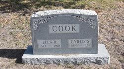 Ella Belle <i>Kimbrel</i> Cook