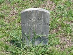 Sgt W. C. Caldwell