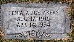 Cenia Alice <i>Gallimore</i> Akers