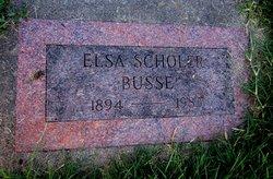 Elsa <i>Scholer</i> Busse