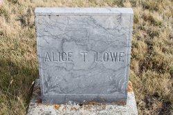 Alice T. Lowe