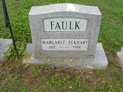 Margeret E. <i>Eckhart</i> Faulk