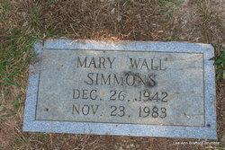 Mary Wall Simmons