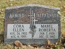 Mabel R Alexander
