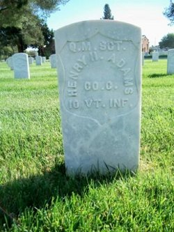 Sgt Henry H Adams