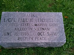 LCpl Paul Holland Mike Mitchell, Jr