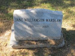 Jane <i>Williamson</i> Wardlaw