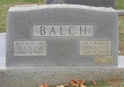Lela <i>Ramsey</i> Balch