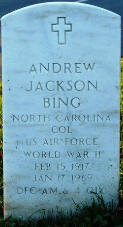 Andrew Jackson Bing