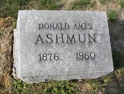 Donald Ames Ashmun