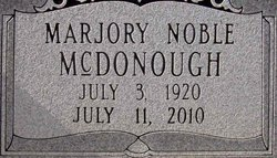 Marjory Lee <i>Noble</i> McDonough