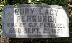 Ruby E <i>Lacy</i> Ferguson