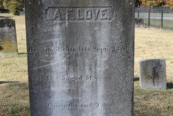 Andrew Franklin Love