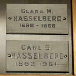 Klara Maria Clara <i>Holmberg</i> Hasselberg