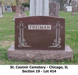 PFC Adolph G Freiman