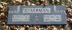 Edwin B Ackerman