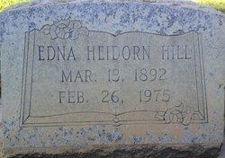 Edna <i>Heidorn</i> Hill