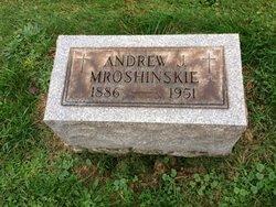Andrew Jackson Andy Mroshinskie