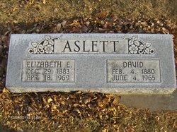 Elizabeth E. <i>Bell</i> Aslett