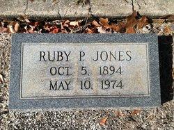 Ruby P Jones