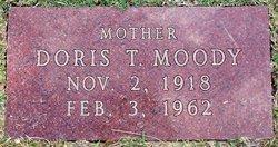 Doris T Moody